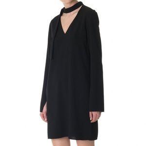 New! Tibi choker Savannah dress black 2